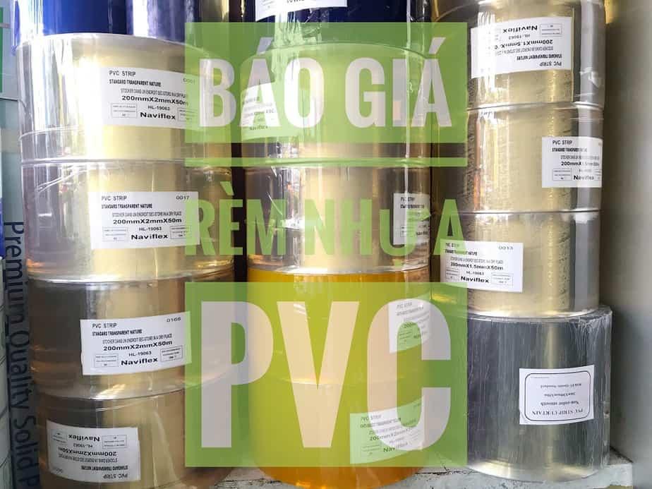 Bảng giá rèm nhựa PVC