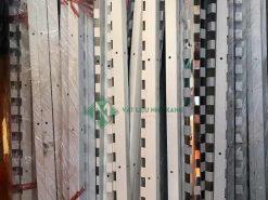 Thanh treo sắt sơn tĩnh điện màu trắng ngà giá rẻ tại kho Vật Liệu Nhà Xanh