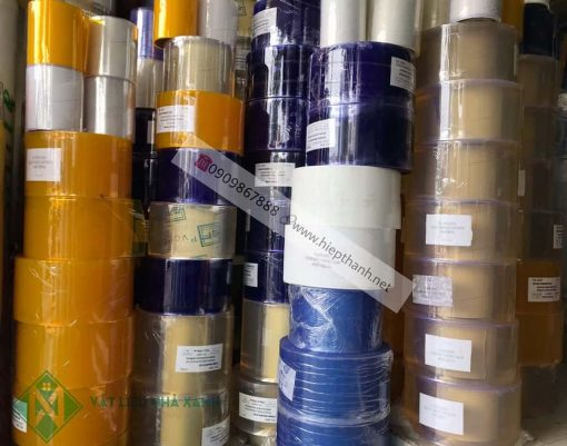 Rèm nhựa (màn nhựa) PVC ngăn lạnh tại Vật Liệu Nhà Xanh luôn luôn có đủ hàng