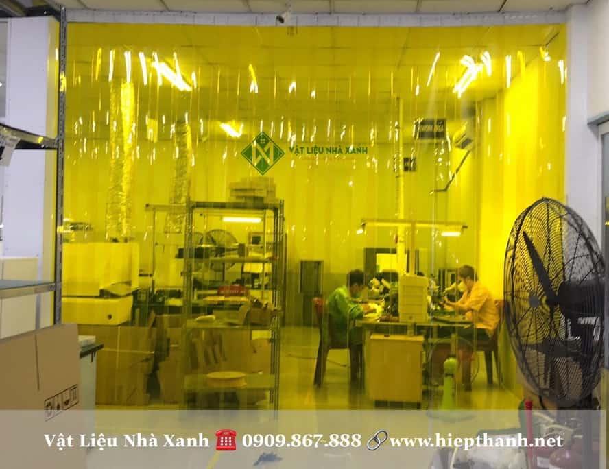 Rèm nhựa (màn nhựa pvc) ngăn côn trùng
