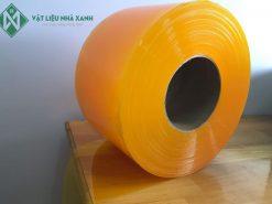 Rèm nhựa PVC màu vàng cam ngăn sự xâm nhập của côn trùng như ong, bướm