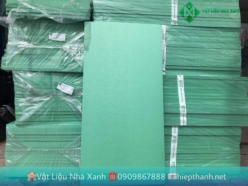 Xốp cách nhiệt XPS quy cách tiêu chuẩn 600*1200mm màu xanh lá