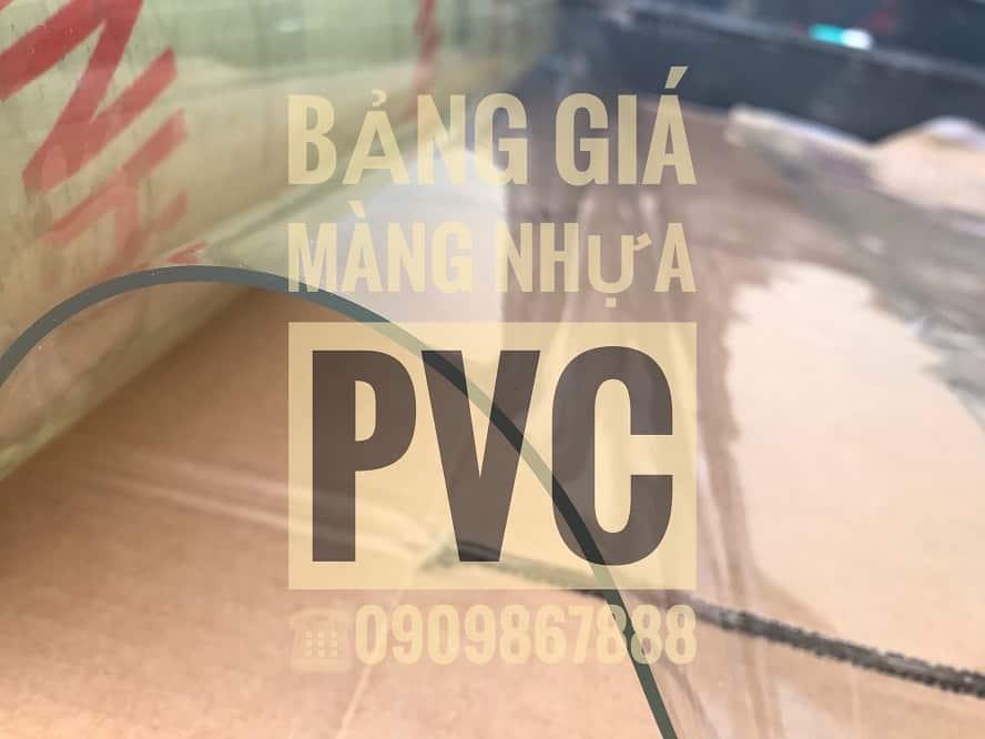 Bảng báo giá màng nhựa PVC trong suốt
