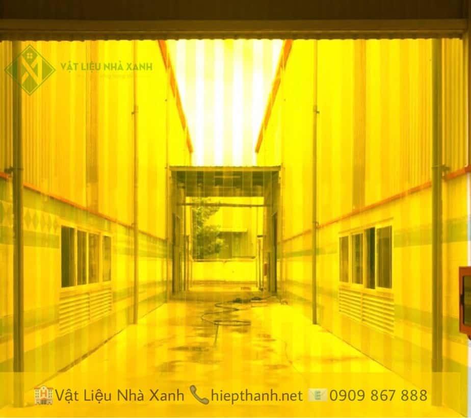 Rèm nhựa PVC thi công tại KCN Thuận Đạo Mở Rộng, H.Cần Đước, Tỉnh Long An