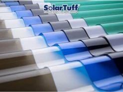 Tôn sóng polycarbonate Solartuff