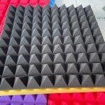 Mút tiêu âm hình kim tự tháp màu đen